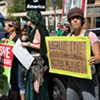 Obama in Oakland: Here's What Marijuana Activists Had to Say (Photos)
