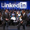 Obama Talks Jobs at LinkedIn