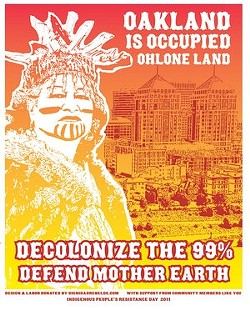 Occupiers = modern day pilgrims minus the brutality on Native Americans?