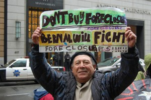 Occupy Bernal Heights changing the world, one foreclosure at a time - LILY ROTHROCK VIA FLICKR
