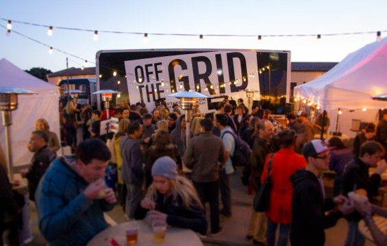 Off the Grid's landmark event at Fort Mason earlier this year. - OFF THE GRID