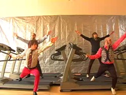 OK Go: YouTube treadmill stars.