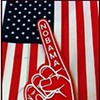Tea Party to Land in San Francisco Waving NOBAMA Foam Fingers