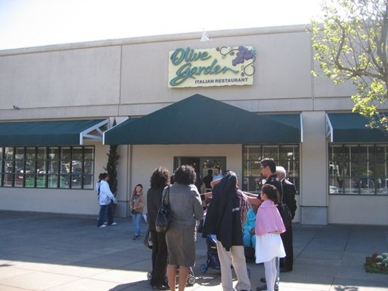 Okay, so we do have an Olive Garden out near S.F. State. - KEVIN Y./YELP
