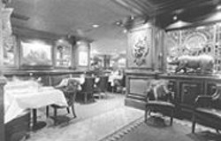 ANTHONY  PIDGEON - Old, Old Money: The Big 4's décor is handsome, but you'll pay - handsomely for the privilege of eating there.