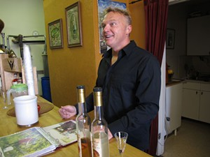 Old World Distillers' Davorin Kuchan will help Scott Beattie school you on gin. - LOU BUSTAMANTE