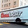 Beer Truck Gets Stuck on San Francisco Hill