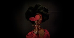 Once again, stop-motion is the way to the heart: Visions of love and hairstyles in An Oversimplification of Her Beauty.