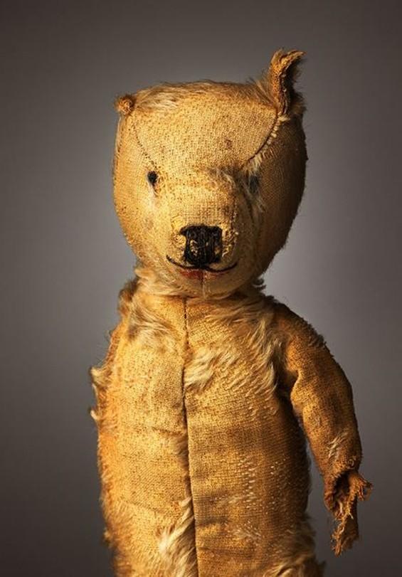 "One Eyed Ted/ Aloysius | Age: 55+ | Height: 13"" | Belongs To: Gerry Ryan/ Babette Ryan"
