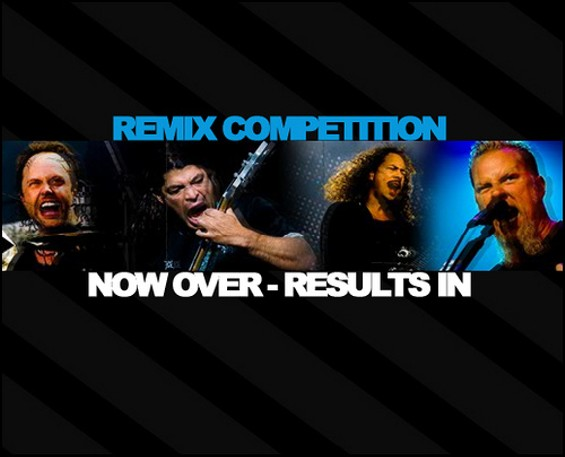 One More Disco's Metallica remix contest drew intriguing entries. - ONEMOREDISCO.COM