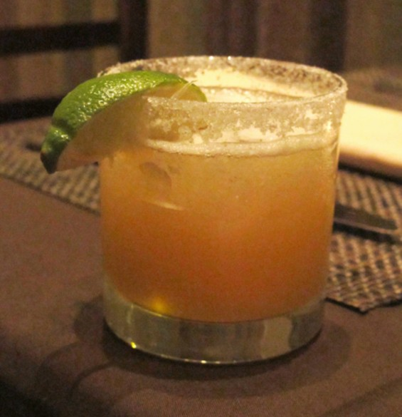 One of bar manager Sam Babalola's cocktails at Pican - LOU BUSTAMANTE