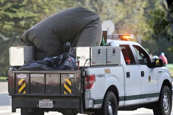 One tent fewer in Golden Gate Park - JIM HERD