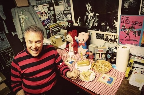One-time presidential candidate/prolific social critic Jello Biafra plays with his current band, the Guantanamo School of Medicine, at Slim's Nov. 15.