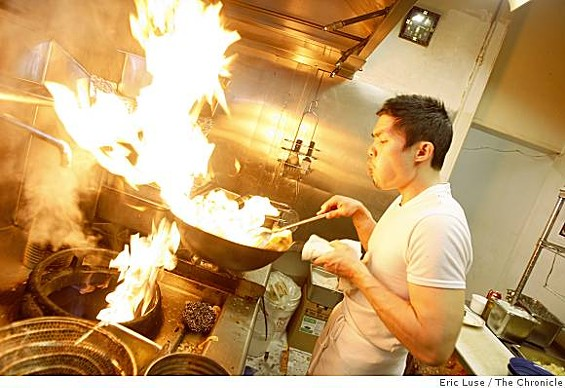 One week left to check Anthony Myint's Mission Street Food hotness. - ERIC LUSE/CHRONICLE