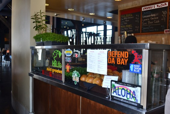Order up from the counter at Sammy's Aloha - ANASTASIA CROSSON