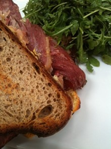 Orson's pastrami sandwich: Pac Heights won't know what hit it. - J. BIRDSALL