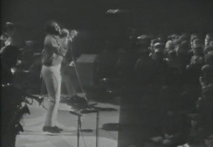 Otis Redding onstage at the Stax Revue concert in Norway, 1967.