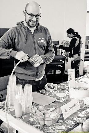 Our favorite soda jerk: Jesse Friedman at New Taste Marketplace. - JORDAN.CHING12/FLICKR