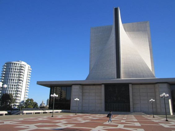 Our Lady of Maytag Cathedral. - JUAN DE ANDA/ SF WEEKLY