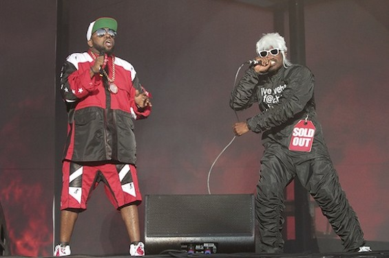 OutKast at BottleRock Napa Valley on Saturday. - CHRISTOPHER VICTORIO