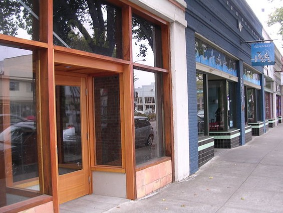 Paisan (left) is adjacent to sister restaurant Sea Salt on San Pablo Avenue. Brace for the pizza tsunami, South Berkeley. - JOHN BIRDSALL