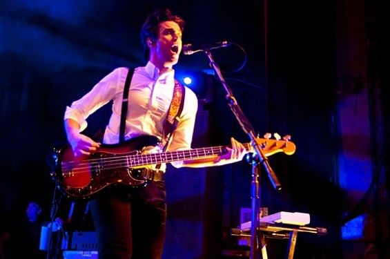 Panic! at the Disco at the Warfield last night - GIL RIEGO JR.