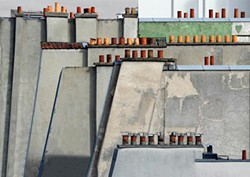 COURTESY OF ROBERT KOCH GALLERY - Paris Roof Top #4 by Michael Wolf