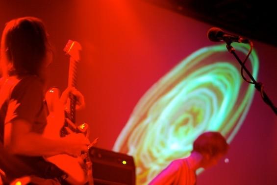 Parker solos, oscilloscope, uh, circles