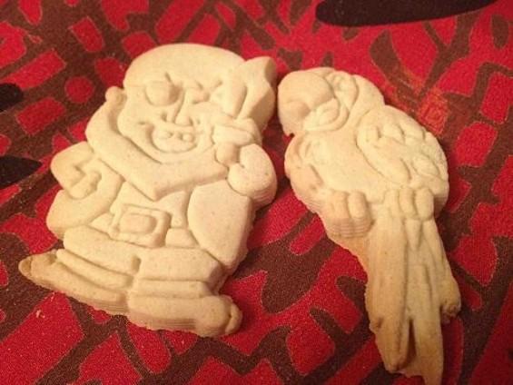 Parker's Crazy Cookies' Pirate Collection. - TAMARA PALMER