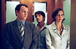SUSAN  HANOVER - Partners in Crime: Richard (John C. Reilly) - mentors Rodrigo (Diego Luna) and attends - to his sister (Maggie Gyllenhaal).
