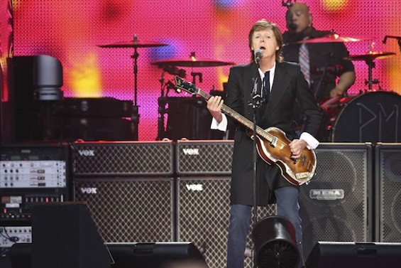Paul McCartney at Outside Lands - CHRISTOPHER VICTORIO