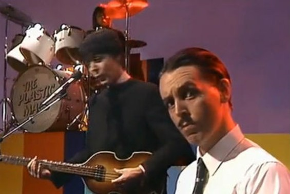 Paul McCartney dressed as Ronald Mael in the video for 1980's 'Coming Up.'