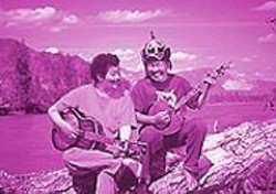 Paul Pena and Kongar-ol Ondar in Genghis Blues.