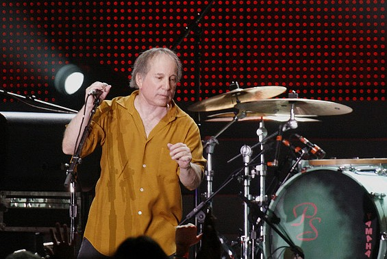 Paul Simon, live and in color. - WIKIMEDIA COMMONS/DBKING