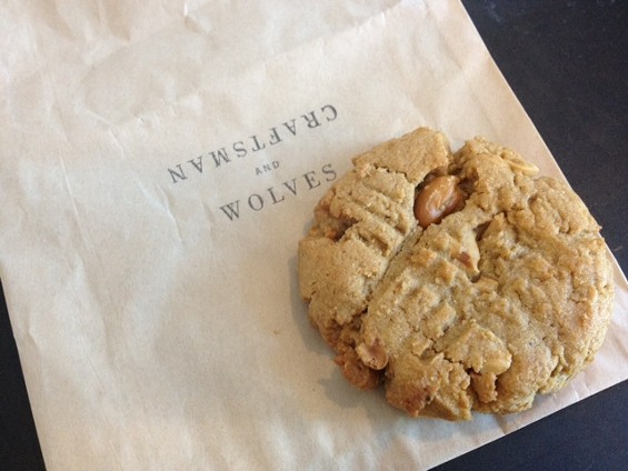Peanut butter cookie by Craftsman and Wolves. - TAMARA PALMER