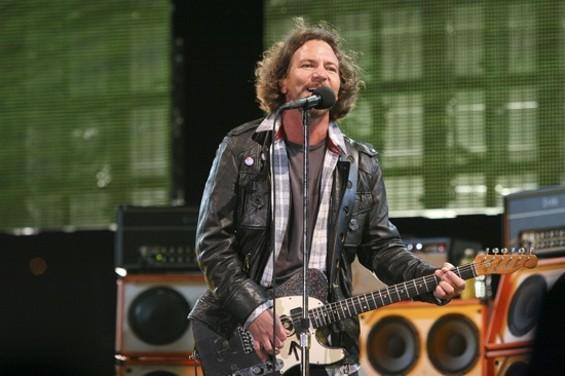 Pearl Jam's Eddie Vedder - CHRISTOPHER VICTORIO