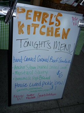 Pearl's Kitchen debuted late last year at the inaugural SF Underground Market. - ALEX HOCHMAN