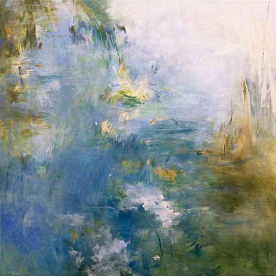"""Peggy Gyulai's """"Poissons d'Or,"""" inspired by the music of Debussy. - COURTESY OF PEGGY GYULAI"""