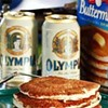 Perfectly Good Beer Wasted As Pancake Debate Rages On