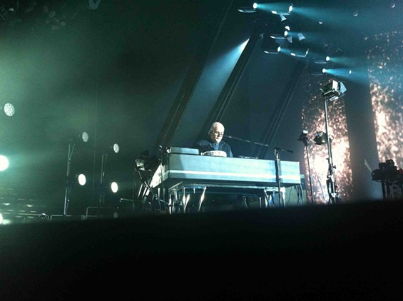 Peter Gabriel performs So and other favorites at HP Pavilion. - MISSY BUCHANAN