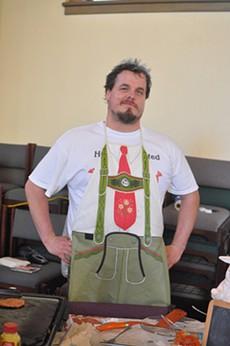 Peter Gardner of Peter's Sausage. - JESSE FRIEDMAN/NEWTASTEMARKET