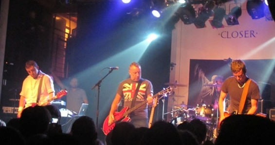 Peter Hook and the Light at Mezzanine on Saturday