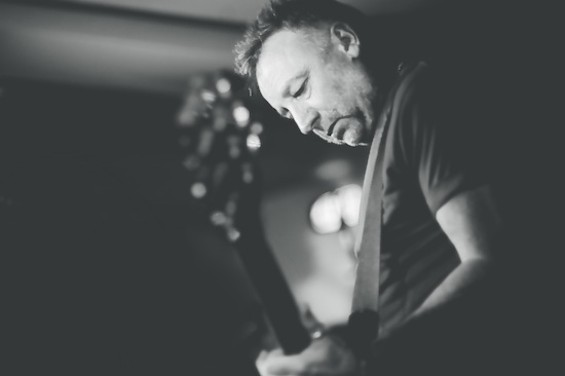 Peter Hook, bassist for Joy Division and New Order. - MARK MCNULTY