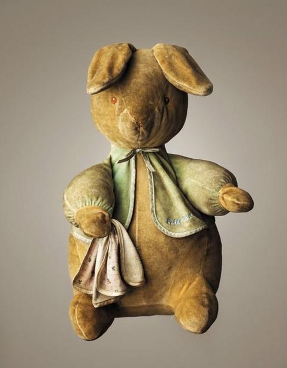 "Peter Rabbit | Age: 10 | Height: 16"" | Belongs To: Calum Nixon"