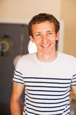 Petit pot founder Maxime Pouvreau.