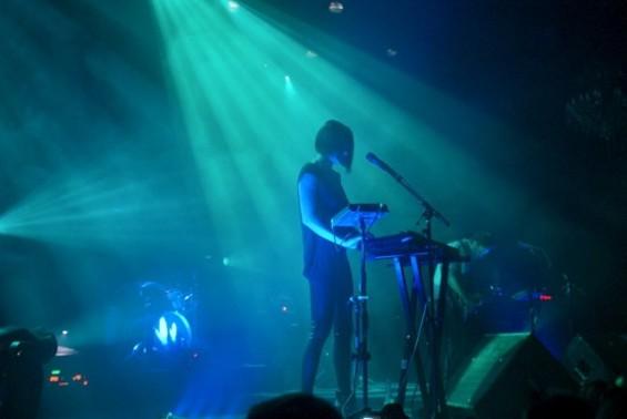 Phantogram at the Fillmore last night.