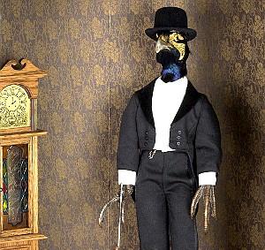 Pheasant Diorama - AUDRA AND BRENNAN DANCE
