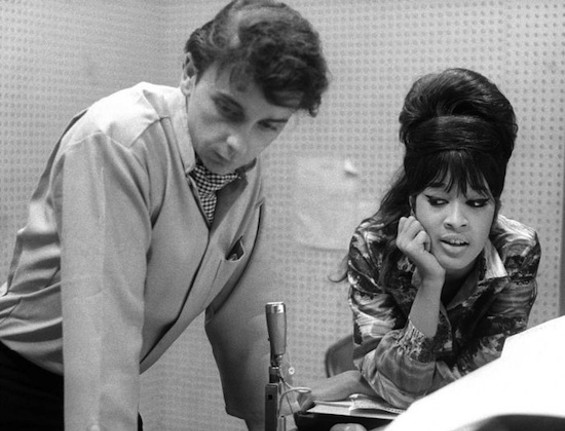 Phil Spector and Veronica Bennett