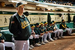 Philip Seymour Hoffman as former A's manager Art Howe.