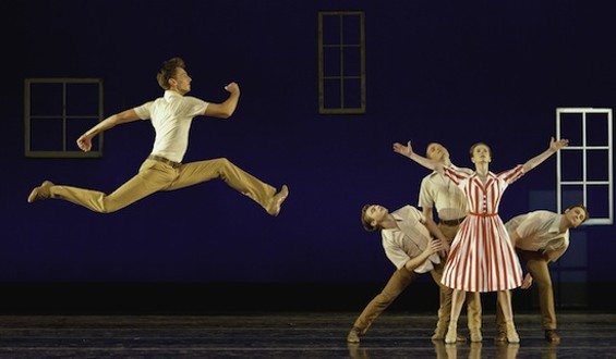 Photo of Smuin Ballet in Dear Miss Cline by David DeSilva